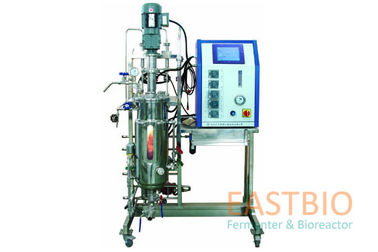 China 30L Bioreactor Fermentor Mechanial Stirred Stirred Adjustable Speed AC Motor factory