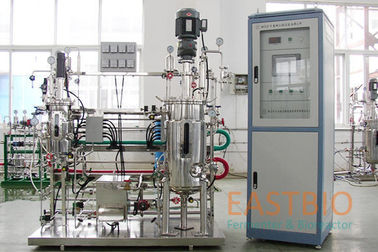 China Multistep Mechenical Stirred Stainless Steel Fermenter 50-500rpm±1% AC Motor factory