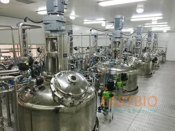 China Wetted Parts SS316L In Situ Sterilizable Fermenter Air Blow Fermenter System factory