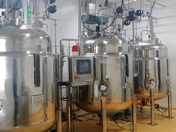 China Flat Blade Bioreactor Fermentor , Stainless Steel Bioreactor Automatic Control factory