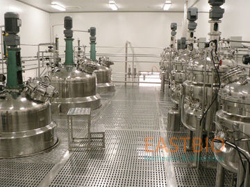 China Vaccine Biologicals Fermenter , Lab Scale Bioreactor Fermentor Floor Stand factory