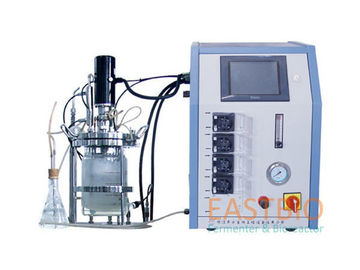 China Benchtop Bioreactor Fermentor , Lab Scale Fermentor 4 Peristaltic Pumps factory