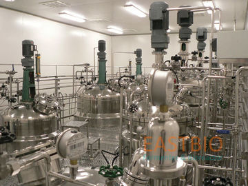 China 5L -10000L Industrial Bioreactors , Lab Scale Fermentor Vaccine Biologicals factory