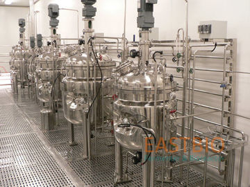 Flat Blade Commercial Fermenter Vaccine Biologicals Lab To Production Scale