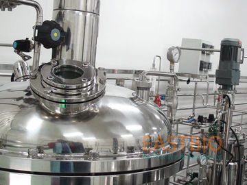 Vaccine Biologicals Fermentation Control System , Stirred Tank Fermenter SS304