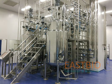 Biopharmaceutical Fermenter System , Fermentation Equipment Wetted Parts SS316L