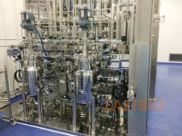 China Biopharmaceutical Commercial Fermenter System Oblique Blade Automatic Control factory