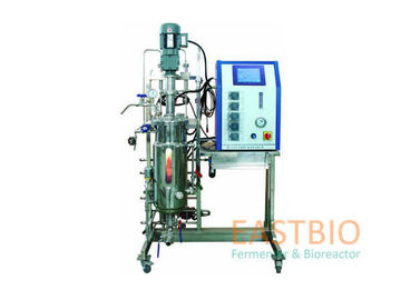 Automatic Control Stirred Tank Bioreactor Adjustable Speed AC Motor With Gear Box