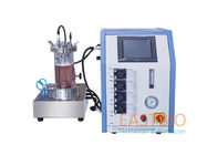 Pt-100 Probe Lab Scale Fermentor Adjustable Speed 4 Peristaltic Pumps